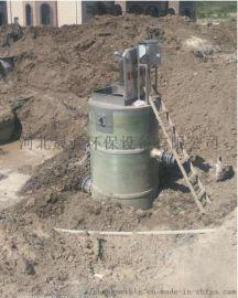 玻璃钢一体化污水泵站 截污井 污水处理设备厂家