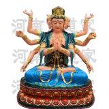 七俱胝佛母彩繪佛像 準抵菩薩神像 鬥姆元君像