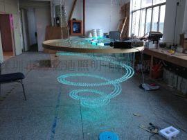 塑料光纤 LOGO发光灯 公司图案发光灯 大厅吊灯