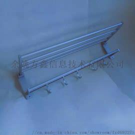 太空铝浴巾架 卫浴浴室挂件毛巾架杆置物架供应