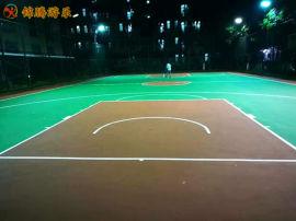 长沙硅pu球场铺设学校篮球场地胶环保塑胶材料厂家