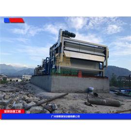 带式污泥压榨机,河沟污泥压榨设备