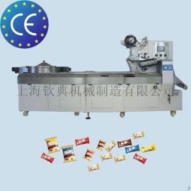 薄荷味糖果枕式多功能包装机异形糖果全自动包装机