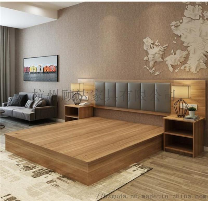 杭州民宿家具 酒店式公寓桌椅 样板房家具
