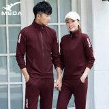 情侣运动套装韩版休闲跑步服装男女长袖出口运动服