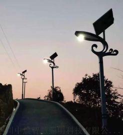 四川中晨太阳能路灯户外灯新农村6米5超亮