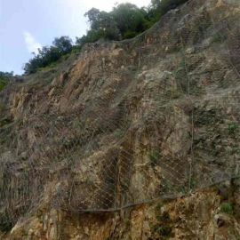 高速柔性边坡防护网 边坡防护网