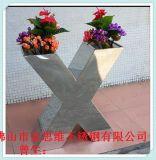异型不锈钢花盆制作工艺 酒店不锈钢花盆