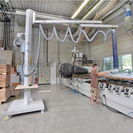 定柱式铝合金轨道气动悬臂吊