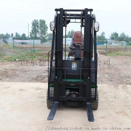 直销 1.5吨四轮电动叉车 托盘装卸车 山东捷克