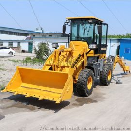 捷克两头忙装载机 铲挖一体机 轮挖生产厂家