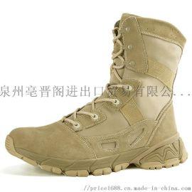 新款军靴 战术作战靴特种作战鞋靴