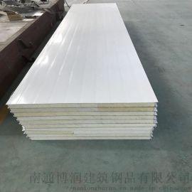 厂家供应环保冷库板聚氨酯夹芯板冷库专用聚氨酯保温板