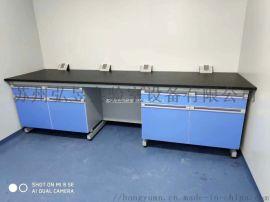 不锈钢工作台三层学校试验台厨房操作台宠物诊疗台