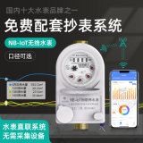 NB-IOT水錶 遠程抄表水錶 免費配抄表系統