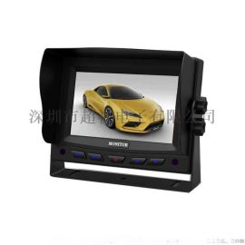 厂家直销 高清5寸车载显示器 数字屏宽电压台式