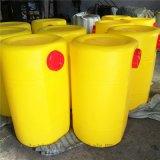 供应黄色打药机药罐 容量300升配套果园打药机水箱