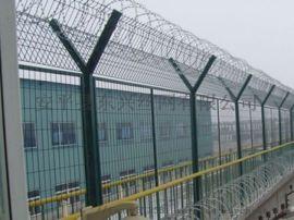 机场护栏网/刀刺绳机场护栏网/重地边界围网