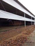 白色透光牛場卷簾布,畜牧養殖業篷布捲簾