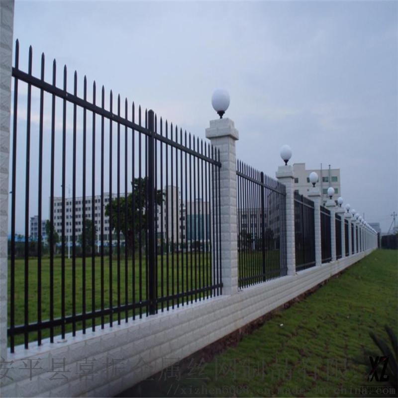 隔离围墙护栏@武清锌钢围墙护栏@围墙隔离护栏栏杆