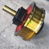 行车行走大轮  铸钢轮  角型轴承箱车轮组