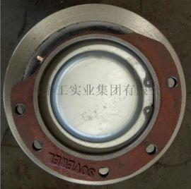 直径200欧式主动车轮组 球墨铸铁车轮组