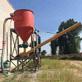 环保气力抽吸机定制 粉体吸式输送系统 六九重工 粉