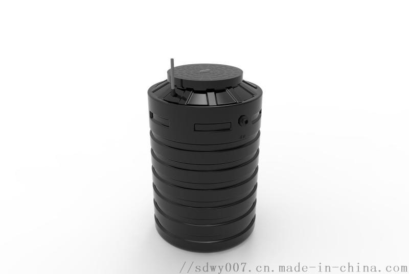 AO一體化污水處理淨化槽_戶用污水處理設備