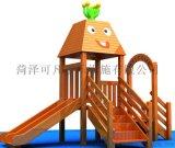 幼儿园小区室外大型木制攀爬架攀爬网组合定制批发