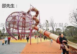 深圳户外游艺设施儿童滑梯全塑滑梯优选优质厂家
