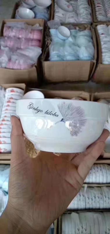 跑江湖摆地摊彩瓷花瓷白瓷餐具2元模式哪里便宜