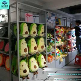 九江诺米货架-服装店展示架-2元店货架加盟