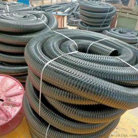 聚氨酯镀铜钢丝风管pu通风管印刷机高温通风管
