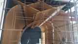 大同旅館弧形鋁方通吊頂 弧形鋁樹鋁方管 直線鋁方通