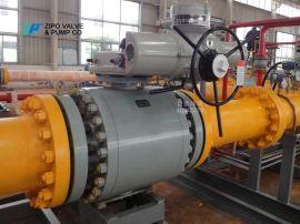 四川自贡Q947F电动球阀规格型远程自动控制阀厂家
