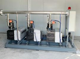 牙科废气抽吸真空机组、牙科废气排放泵系统