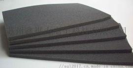 定制导电泡棉成型黑色防静电海绵黑色防静电pu海绵