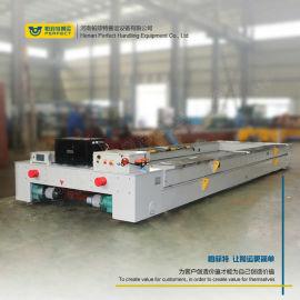 电缆供电轨道运输车 耐火材料专用台车 高频率电平车