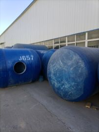 卧式雨水过滤罐污水处理玻璃钢隔油池