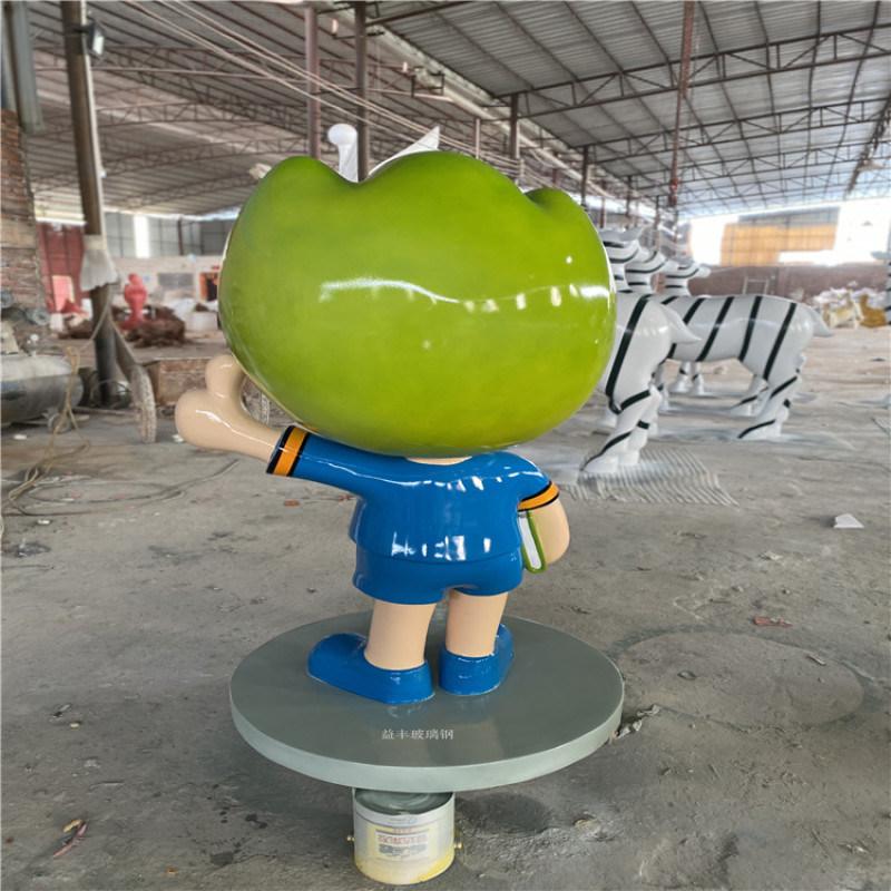 卡通玻璃钢模型咨询图片 河源卡通猪雕塑