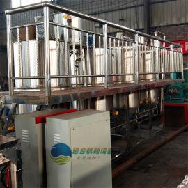 大中型食用油精炼设备生产线