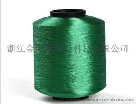 涤纶加捻色丝 倍捻定型 编织带 数据线