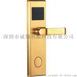 不锈钢酒店门锁电子锁智能宾馆锁刷卡锁