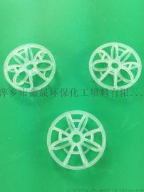塑料带刺花环的介绍及应用 塑料填料厂家报价