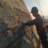 電廠冷卻塔表面混凝土修補料, 煙囪表面混凝土修補料