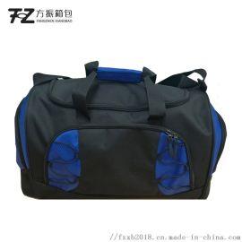 厂家直销运动健身包单肩旅行包圆筒包定制logo