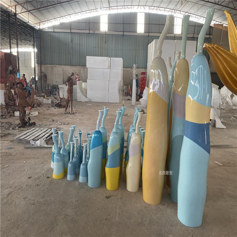 玻璃钢雕塑造型游乐场景观彩灯造型雕塑摆设