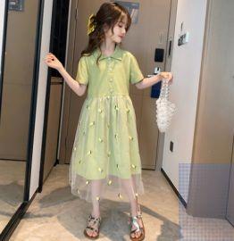 童装女童连衣裙2020新款儿童公主裙夏装长裙大童夏季裙子洋气夏款