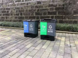 漳州40升双胞胎分类垃圾桶_两桶分类