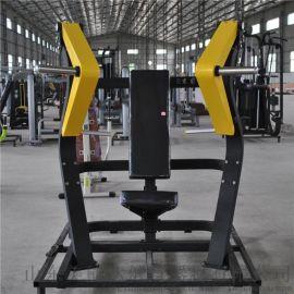 商用健身器材室内运动组合力量器械坐式推胸训练器
